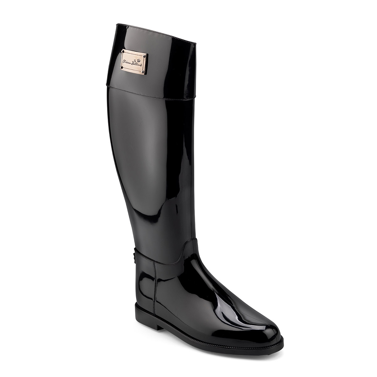 Riding Boot in bright pvc