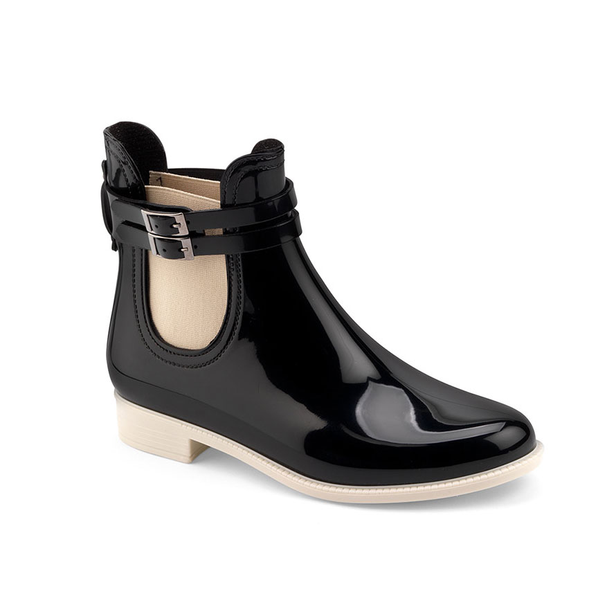 chelsea rain boot with double strap