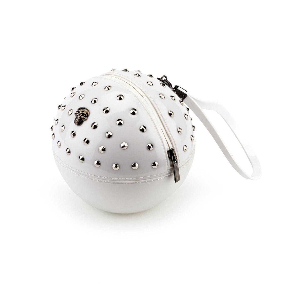 Pvc Sphere Bag with studs