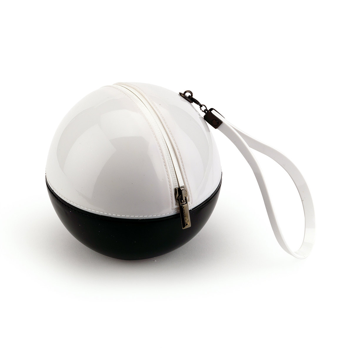 Two-colour pvc Sphere Bag