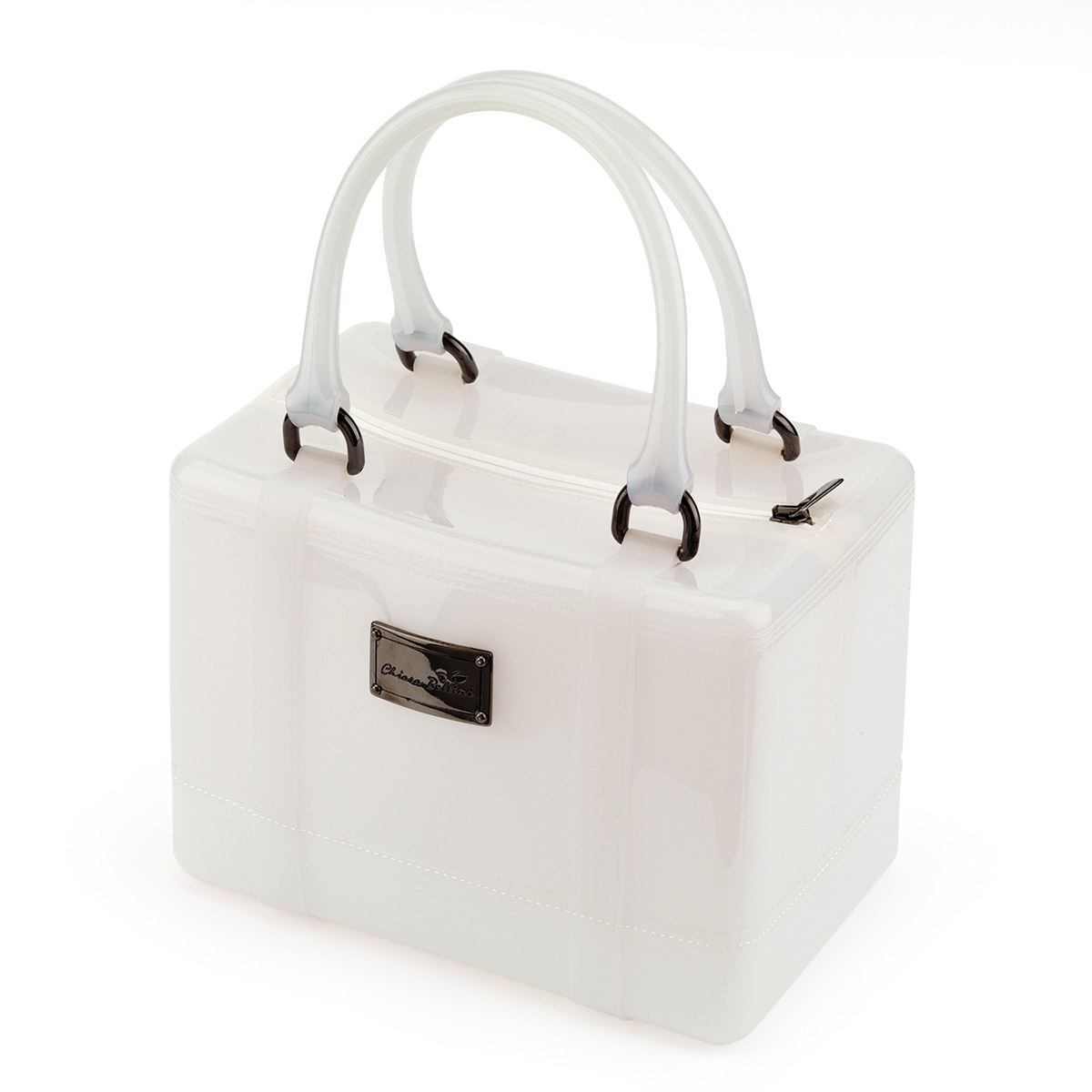Borsa a bauletto in Pvc