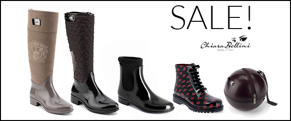 Sales on accessories and footwear of Fall / Winter 2015-2016 Collection!
