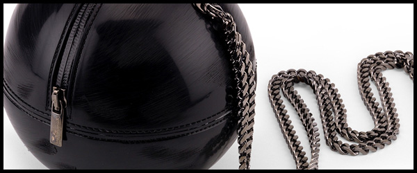 The sphere Bag in Pvc with scratched effect will be available soon for online sale!