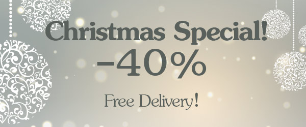 Special Christmas promotion! PVC bags and footwear discounted by 40%