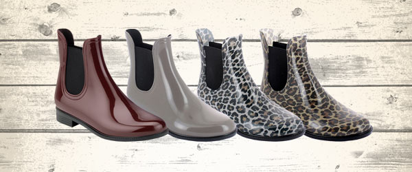 New Chelsea boots in PVC now available in the Shop Online
