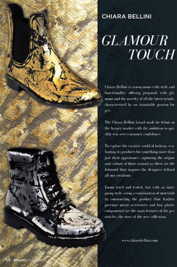Glamour Touch: Chiara Bellini su Brands Collection