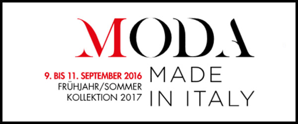 "The new Spring/Summer 2017 collection at the fair ""Moda Made in Italy"" in Münich"