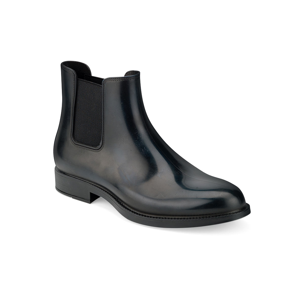TWO-COLOUR CHELSEA RAIN BOOT WITH MATT EFFECT